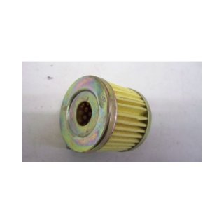 Paper cartridge for oil filter